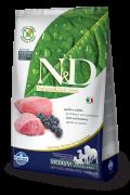 Farmina Беззерновой N&D Lamb & Blueberry Adult Medium & Maxi Ягненок, черника. Полнорационный корм для взрослых собак всех пород