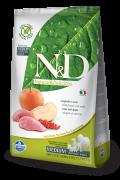Farmina Беззерновой N&D Boar & Apple Adult Medium & Maxi Фармина мясо кабана с яблоком - полнорационный беззерновой корм для взрослых собак всех пород