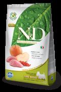 Farmina Беззерновой N&D Boar & Apple Adult Mini  Фармина мясо кабана с яблоком - полнорационный беззерновой корм для взрослых собак Мелких и Карликовых пород