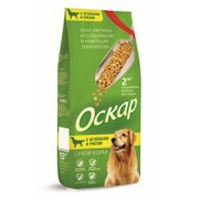 Оскар сухой корм с Ягненком и рисом для собак с чувствительным пищеварением