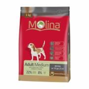 Полнорационный корм для взрослых собак средних пород MOLINA «Adult Medium»