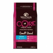 Wellness CORE Small Breed Ocean беззерновой сухой корм для собак мелких пород, лосось