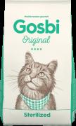 GOSBI ORIGINAL CAT CTERILIZED для КАСТРИРОВАННЫХ КОШЕК И КОТОВ Курица с Лососем