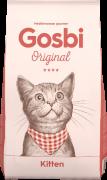 GOSBI ORIGINAL CAT KITTEN для КОТЯТ Супер премиум Курица с Лососем