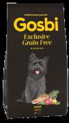 GOSBI GRAIN FREE ADULT MINI БЕЗЗЕРНОВОЙ корм холистик для взрослых собак мелких пород. Лосось и Ягненок. ГИПОАЛЛЕРГЕННЫЙ (Испания)
