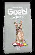 GOSBI EXCLUSIVE DIET MINI - НИЗКОЗЕРНОВОЙ корм для взрослых собак мелких пород, склонных к избыточному весу (Испания)
