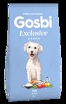 Gosbi Exclusive Fish Mini - НИЗКОЗЕРНОВОЙ Полностью сбалансированный ГИПОАЛЛЕРГЕННЫЙ корм для собак мелких пород с рыбой  Средиземноморская Диета (Испания)