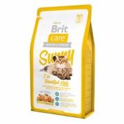 BRIT CARE Sunny I 've Beautiful Hair Гипоаллергенный корм с МЯСОМ ЛОСОСЯ и рисом для взрослых кошек, шерсть которых требует дополнительного ухода (Чехия)