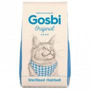 Gosbi Original Sterilized Hairball Полностью сбалансированный корм Супер премиум для КАСТРИРОВАННЫХ КОШЕК И КОТОВ, способствующий выведению Шерстяных комочков и регулирующий перистальтику кишечника