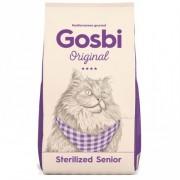 GOSBI ORIGINAL STERILIZED SENIOR Супер премиум для ПОЖИЛЫХ И КАСТРИРОВАНЫХ кошек и котов